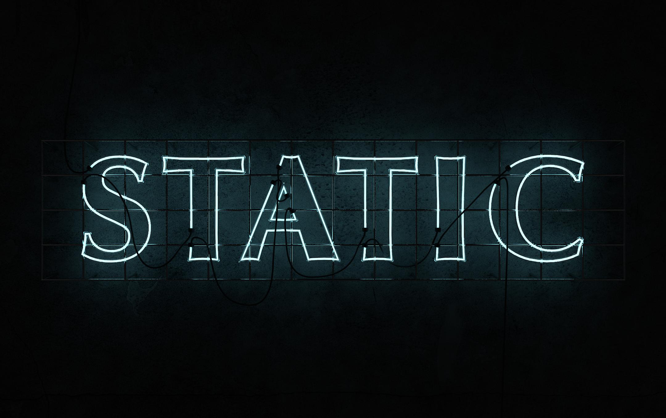 static_neon
